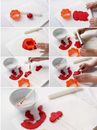 """Як зробити Новорічний торт """"Півень"""" - рецепти з фото"""
