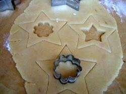 Новорічне печиво на ялинку - Кулінарні рецепти