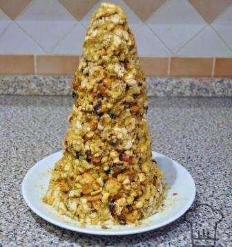 Рецепт новорічного торта Ялинка