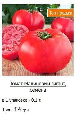 купити насіня помідорів зі знижкою