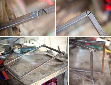 Крок 2: створення додаткової знімної підставки для мангалу