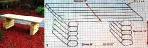 Технологія виготовлення лавки