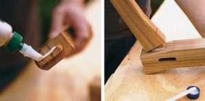 Дерев'яна гойдалка-лава, крок 2