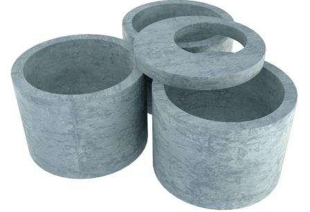 Септик з бетонних кілець є прийнятним за ціною і не дуже складним в установці варіантом