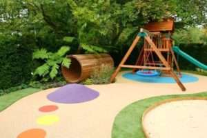 дитячий майданчик на дачі дизайн
