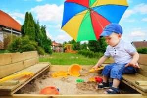 дитячий майданчик своїми руками з дерева фото