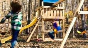дитячий ігровий майданчик своїми руками