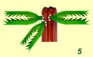 Виготовлення пальми з пластикових пляшок