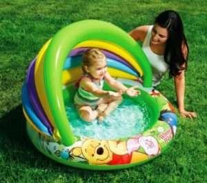 Маленький дитячий басейн
