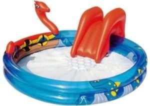 Круглий надувний басейн