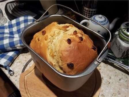 Великодня паска в хлібопічці