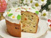 Рецепт смачної паски з родзинками (ізюмом) на Великдень з фото та відео