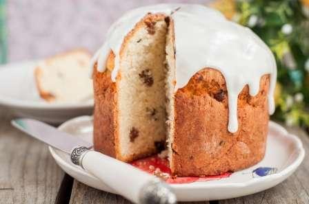 Рецепт паски з родзинками на Великдень
