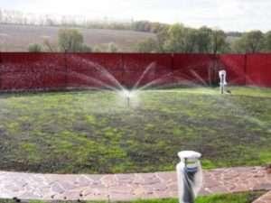 Рівномірність посадки газону