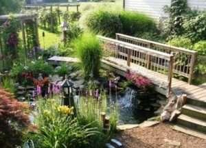 Основою для водойми може служити бетонна основа