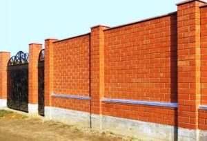 правила монтажу бетонного паркану