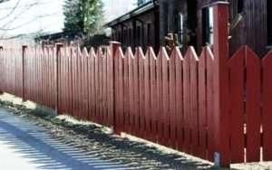 Недоліки дерев'яного паркану