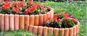 Бордюри для садових доріжок