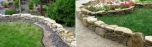 Кам'яний бордюр