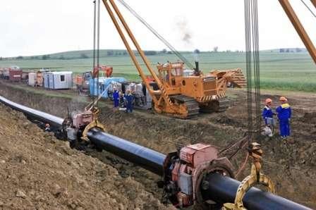 Прокладка газової магістралі