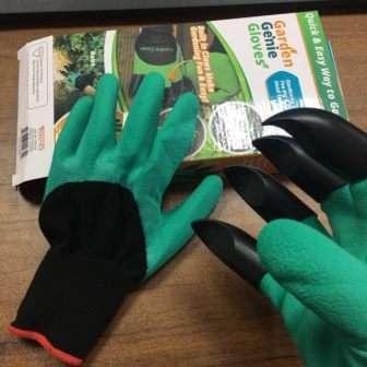 Переваги використання садових рукавичок