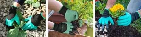 Характеристика садових рукавичок Garden Genie Gloves