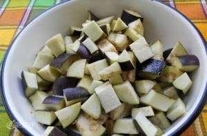 рецепт баклажанів з перцем