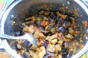 салат з баклажанів на зиму рецепт приготування