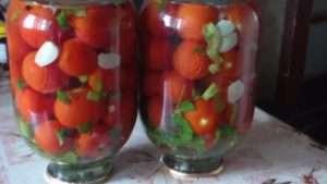 Класичний рецепт помідорів на зиму без оцту