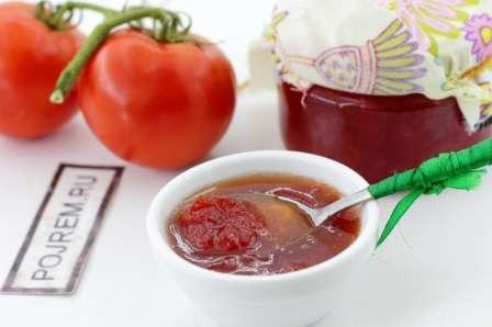 Варення з помідорів: класичний рецепт приготування