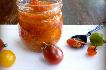 Варення з помідорів «Черрі» пошаговий кулінарний рецепт з фото