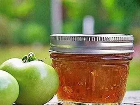 Рецепт варення із зелених помідорів