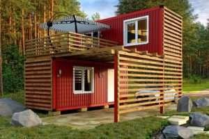 Матеріали для створення дачних будинків