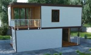 Повноцінні жилі будиночки з утепленими стінами для дачі