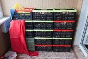 зберігання картоплі на балконі в ящиках