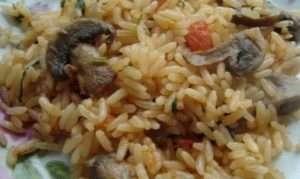 Приготування фаршированого перцю з грибами і рисом