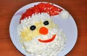 салат «Дід Мороз» - найкращий рецепт