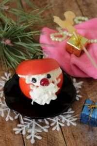 Закуска на основі помідор «Дід Мороз»
