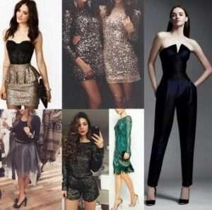сукні яких кольорів одягти на 2019 новий рік