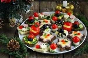 Як приготувати закуски на 2018 новий рік