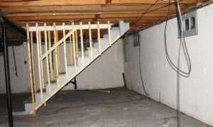 опори для погріба під гаражем