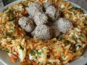 готуємо салат «Зозулине гніздо»