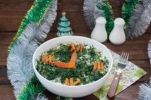 Рецепт салату «Новорічна ніч»