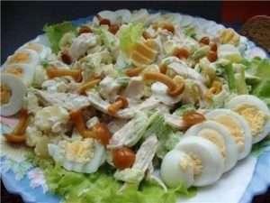 як приготувати салат «Сосновий бір»