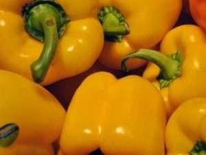 Кращі сорти жовтого перцю для обробки